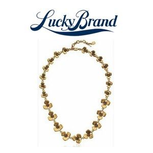 NWOT. Lucky Brand Floral Collar Necklace Bundle